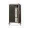 armoire design nouveau baroque / en bois laqué brillant / à porte battante