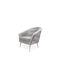 fauteuil classique / en tissu / en laiton