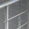 escalier en colimaçon / structure en acier inoxydable / marche en métal / sans contremarche