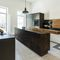 cuisine contemporaine / en bois / en métal / avec îlot