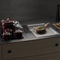 hotte de cuisine intégrée au plan de travail