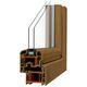 fenêtre battante / en PVC / à double vitrage / acoustique