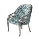 fauteuil design nouveau baroque / en tissu
