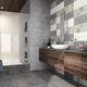 carrelage de salle de bain / mural / en faïence / rectangulaire
