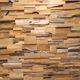 revêtement mural en teck / en bois massif / résidentiel / pour le tertiaire