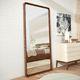 miroir mural / contemporain / rectangulaire / en bois