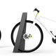 range-vélo en acier / en inox / sécurisé / pour espace public
