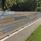 clôture de jardin / pour espaces verts / à lames / en PVC