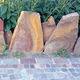 bordure de jardin / en pierre / autres formes