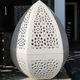 lampe de sol / design original / en pierre