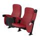 fauteuil d'auditorium contemporain / en cuir / en tissu / tapissé