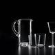 carafe en verre soufflé / professionnelle / à usage domestique