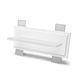 luminaire encastrable au mur / à LED / linéaire / en verre