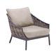 fauteuil contemporain / en bois / de jardin