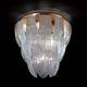 plafonnier classique / en verre de Murano / à LED / à incandescence