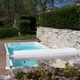piscine coque / enterrée / en acrylique / professionnelle