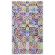 tapis contemporain / à motif / en velours / rectangulaire