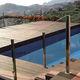 couverture de piscine automatique / de sécurité / à barres / immergée