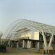 charpente métallique pour structure tendue à arches / pour aéroport / spatiale / en acier galvanisé