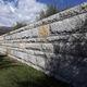 bloc de béton aspect pierre / plein / pour clôture de jardin / pour mur de soutènement