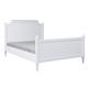 lit double / de style / avec tête de lit / en bois