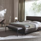 bout de lit contemporain / en tissu / en bois / résidentiel