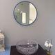 miroir de salle de bain mural / contemporain / rond