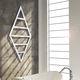 sèche-serviettes à eau chaude / contemporain / en acier / en inox