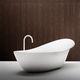 baignoire à poser / ovale / en CristalPlant®