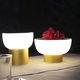 lampe de table / contemporaine / en aluminium anodisé / en polyéthylène rotomoulé