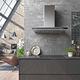 hotte de cuisine murale / avec éclairage intégré / silencieuse