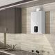 chauffe-eau instantané à gaz / mural / vertical / résidentiel