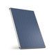 panneau solaire thermique plan / pour chauffer l'eau / avec cadre en aluminium / montage vertical