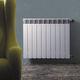 radiateur à eau chaude / <500 w / contemporain / en aluminium