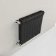 radiateur à eau chaude / en aluminium / contemporain / rectangulaire
