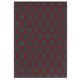 tapis contemporain / à motif géométrique / en laine de Nouvelle Zélande / rectangulaire