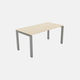 bureau en bois / en stratifié / aluminium / contemporain