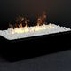 insert de cheminée à 3 faces / électrique / télécommandé / effet flamme