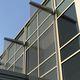 brise-soleil en maille métallique / pour façade / vertical