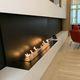 cheminée au bioéthanol / contemporaine / à foyer ouvert / à 3 faces