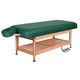 table de massage électrique / hydraulique / en bois / avec rangement