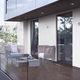 profilé pour fenêtre en aluminium / à isolation thermique
