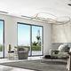 système coulissant pour porte / pour fenêtre / en verre