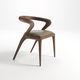 chaise contemporaine / en chêne / en noyer / en frêne