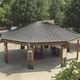 couverture de toit en cuivre / à joint debout / nervurée