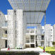 façade en verre