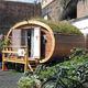 micro-maison préfabriquée / contemporaine / écologique