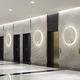 applique murale contemporaine / en aluminium / à LED / ronde