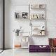 système d'étagères mural / suspendu / contemporain / en bois