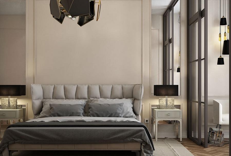 Chambre à coucher contemporaine en Russie - United States ...